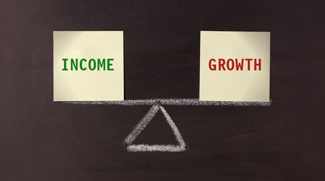 Income vs. growth