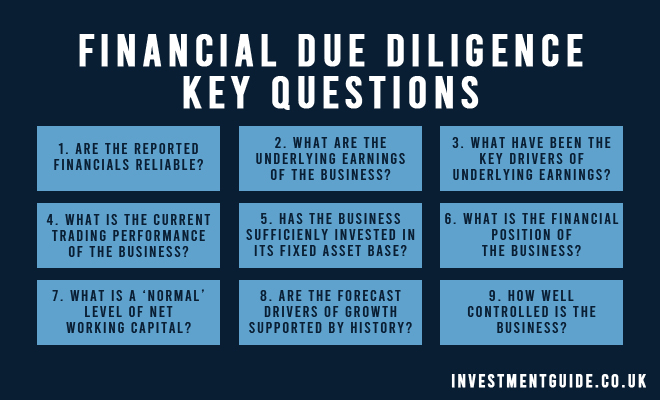 Financial Due Diligence Key Questions